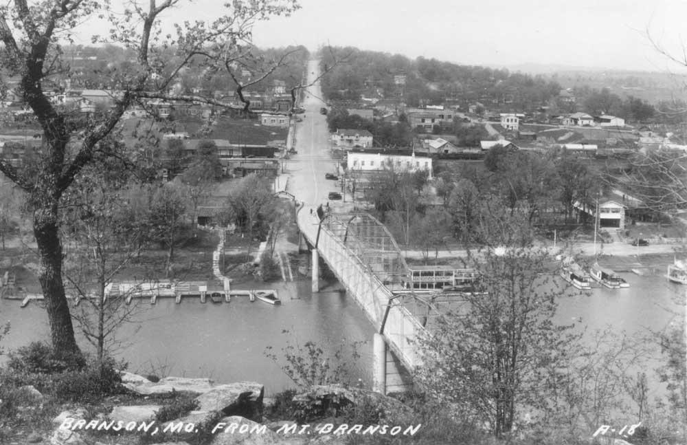 Downtown Branson, Circa 1940s