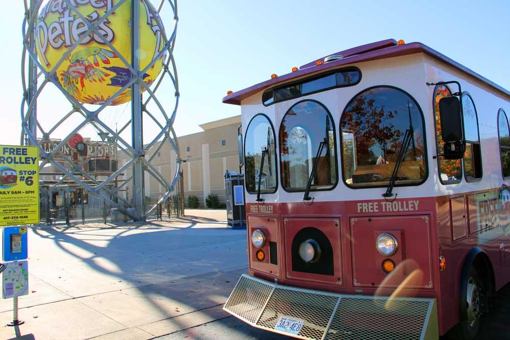 Branson Landing Belk Trolley Stop