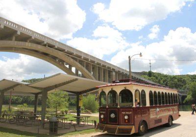 Exploring Trolley Stop #1 – Lakeside RV Park