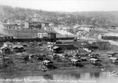Founded on its banks, Branson's history tied to White River