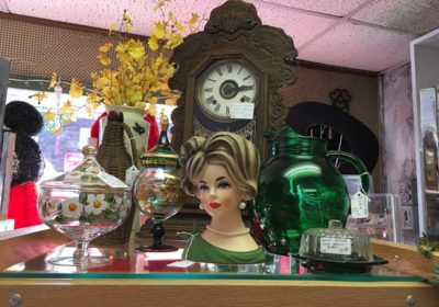 Awesome antiques and flea markets on Sparky's route