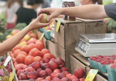 Tuesdays are Branson Farmers Market days in Downtown