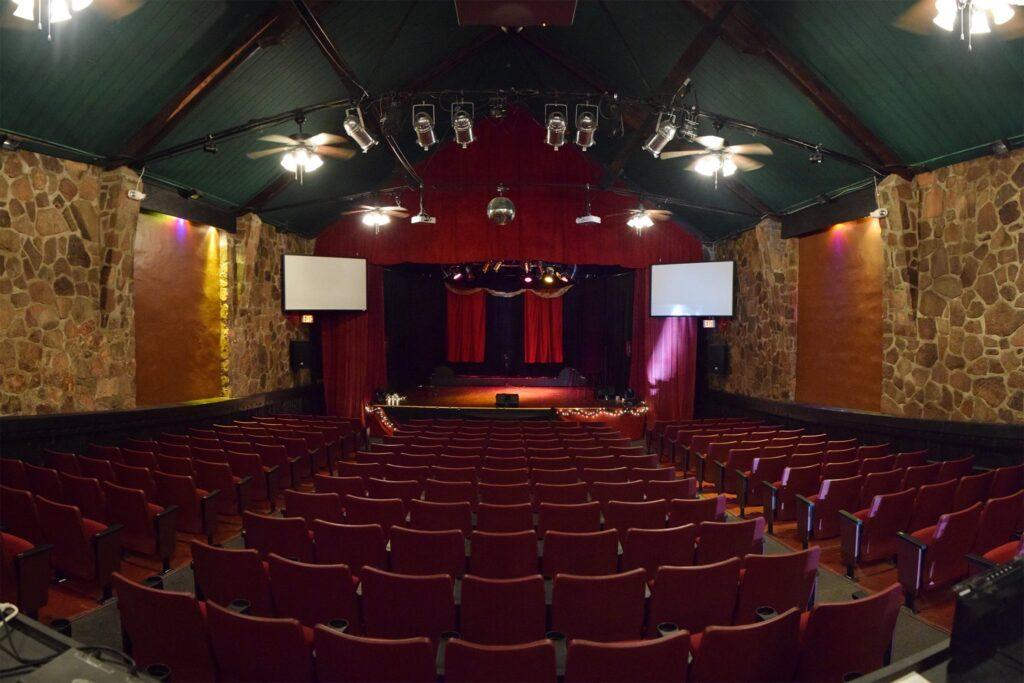 Interior of the Historic Owen Theatre in Downtown Branson MO
